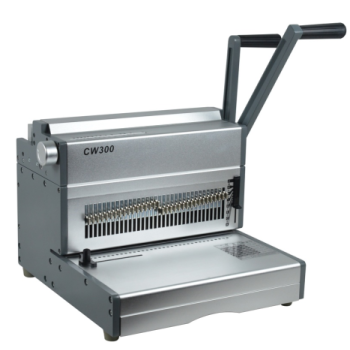A4 Size Manual  Double Wire Binding Machine CW300