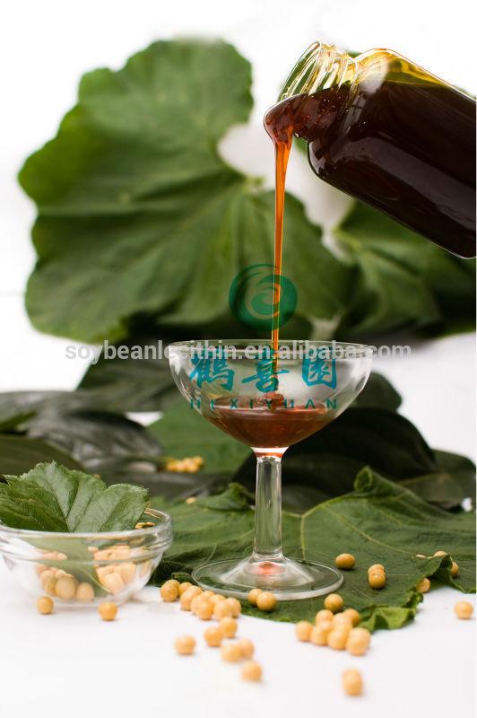 Venda quente de soja extrato de óleo soja lecitina
