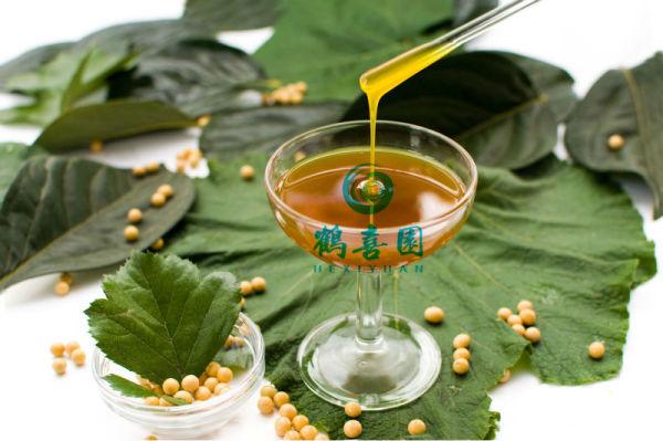 Líquido do produto comestível soja lecitina produtores