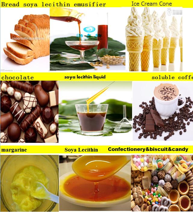 soya lecithin cake gel emulsifier