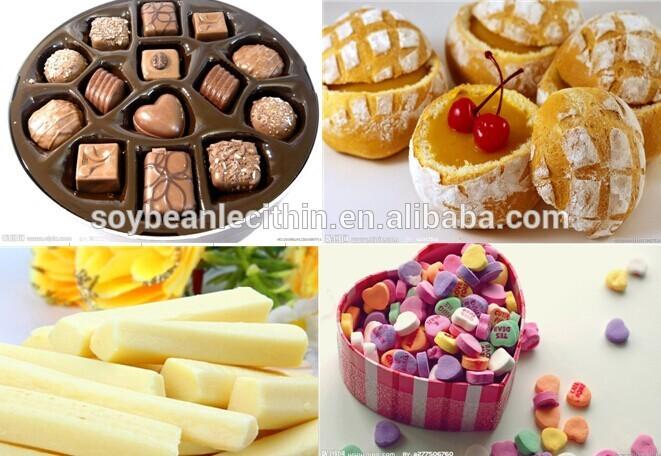 Soybean lecithin food additives