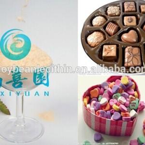 Soy lecithin chocolate powder
