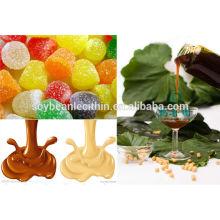 Líquido soyabean lecitina como alimentos halal productos aditivos