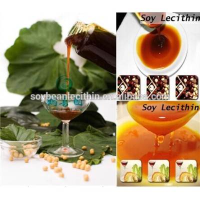 GMO Free Emulsifier soya lecithin as halal food supplements