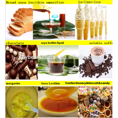 Food additives in chocolate soya lecithin