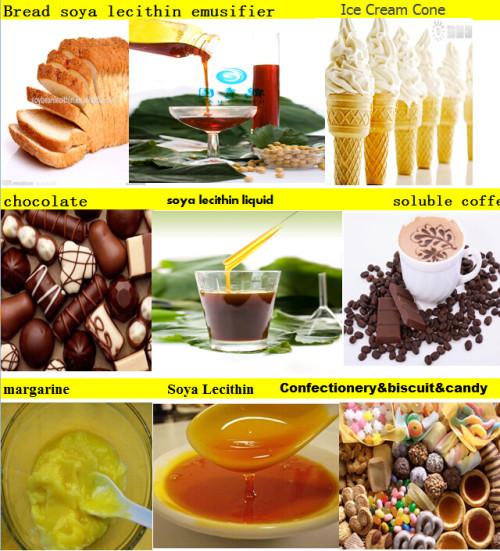 Emulsifier soybean lecithin for cakes