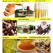 Lecitina de soja emulsionantes