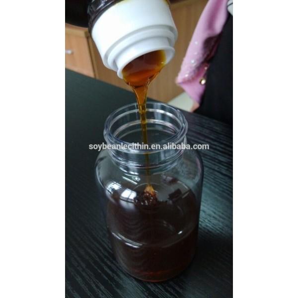 Transparente soluble en agua de lecitina de soja *** hydroxylated modificado enzymed modificado muy buena capacidad de extremo a extremo se solued en wat