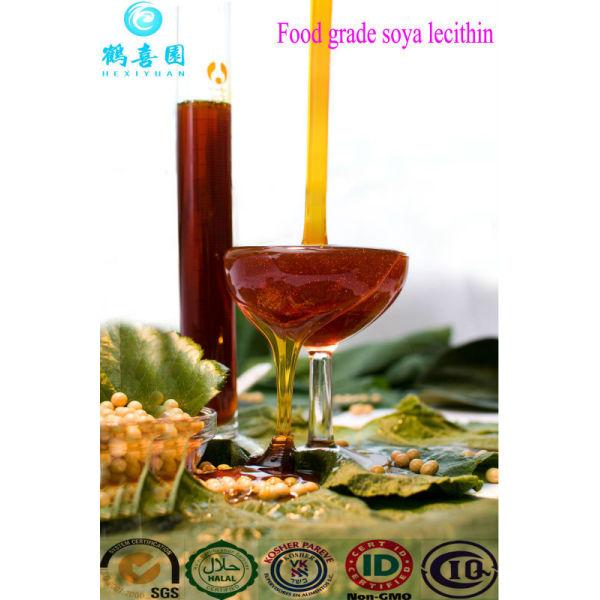 De la categoría alimenticia líquido lecitina de no gmo