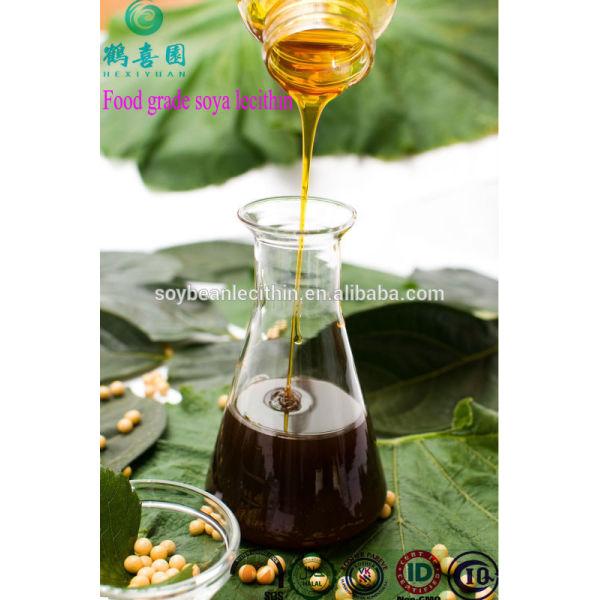 Alta calidad emulsionante de lecitina de soja no gmo