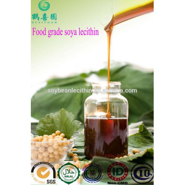 Orgánica a granel de la categoría alimenticia líquido lecitina de