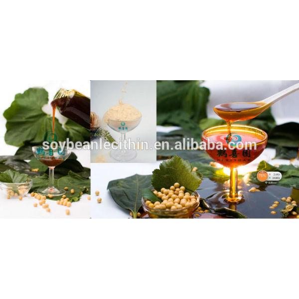 De la categoría alimenticia no gmo líquido lecitina de