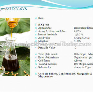High quality soya lecithin