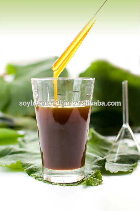 Soya lecithin for leather fatliquor
