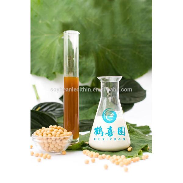 Emulsionante líquido lecitina de para grasa licor de cuero