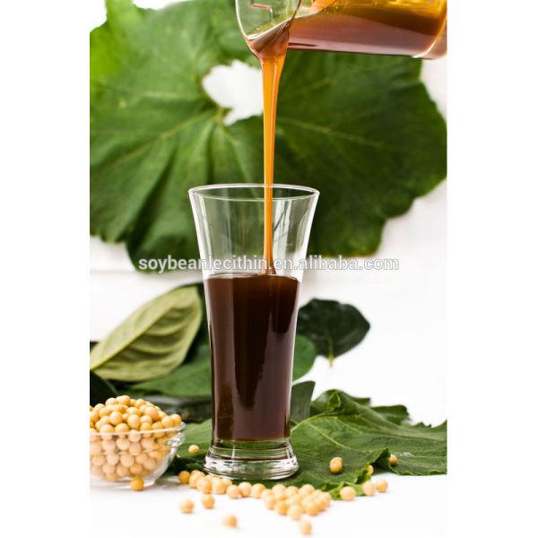 Industria grado de lecitina de soja emulsionante