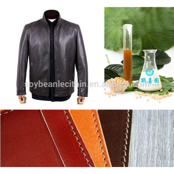 Oferta de la fábrica de soja lesitin cuero desgrasado portátil agente