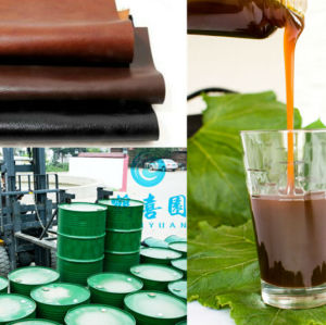 Factory offer emulsifier soybean lecithin for Leather fatting agent