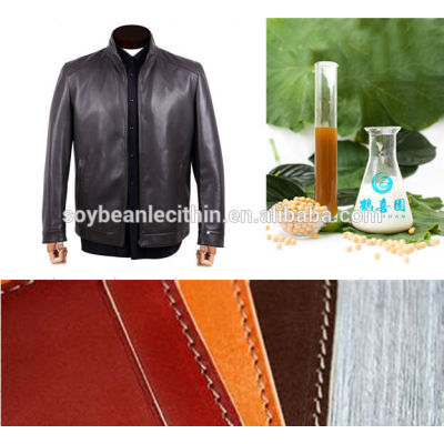 modified or water soluble soya lecithin for leather fatliquor