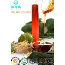 E322 no ogm líquido lecitina de soja