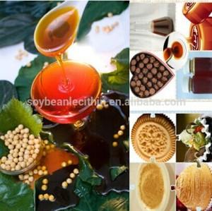 food grade non gmo soya lecithin as emulsifier