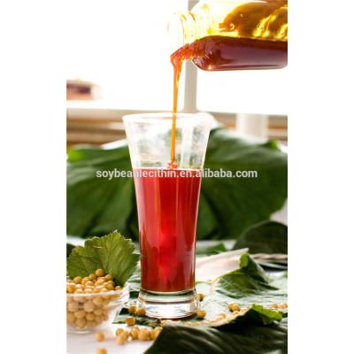 Transparente color de la categoría alimenticia líquido lecitina de