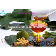 Transparente color de la categoría alimenticia de soja no omg lecitina