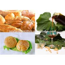 Lecitina de utilizar como emulsionante y estabilizador para panadería
