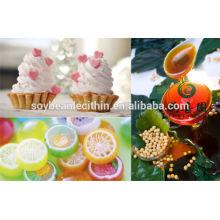 Suplementos de alimentos naturales de lecitina de