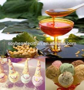 Food additives soya lecithin granules