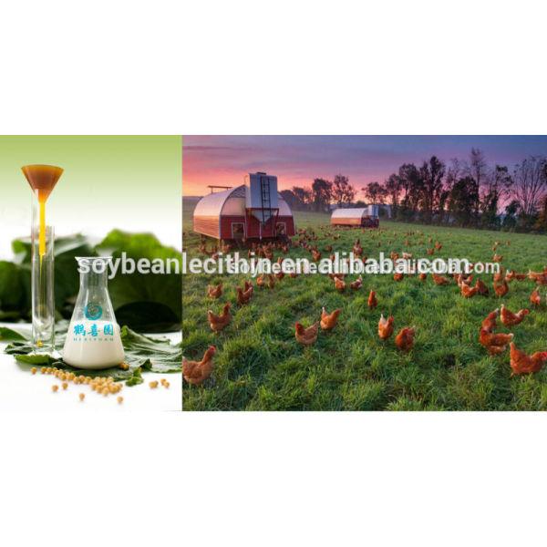 Soja blanqueados lecitina como animal Toxicide