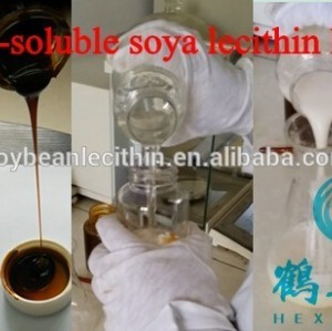 Modified/water soluble/hydroxylated soy lecithin liquid
