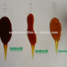 Soja hidrolizado lecitina Soluble en agua emulsionante