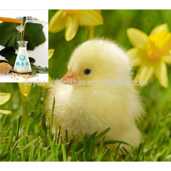 Las aves de corral nutricional lecitina de