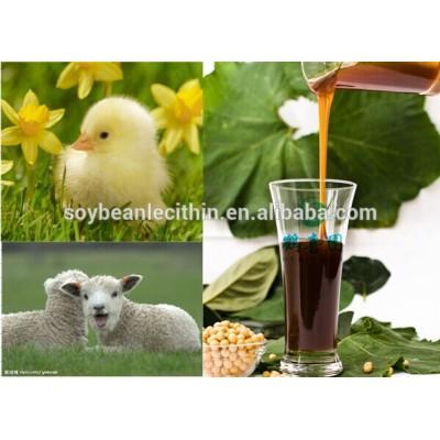 Soybean lecithin as liquid emulsifier