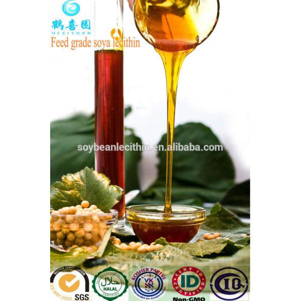 Soja lecitina para alimentación animal aditivos