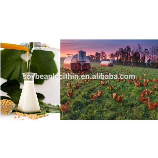 Lecitina de aceite para la alimentación animal de aditivos