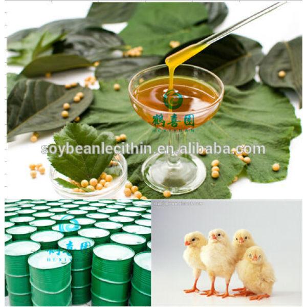 Lecitina de para alimentación de aves de corral aditivos