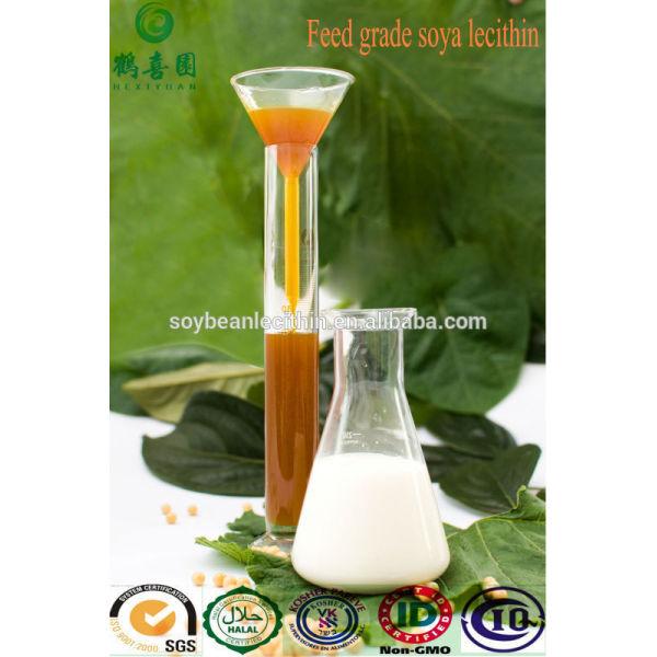 Lecitina de soja líquido para alimentación de aves de corral aditivos