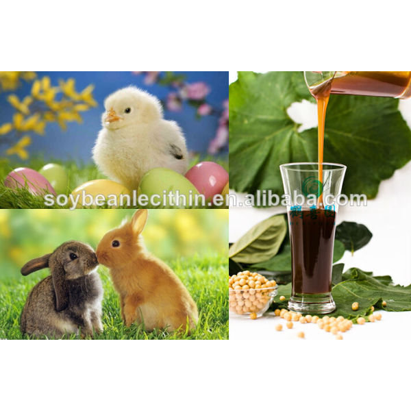 Oferta de la fábrica alimentación de aves de corral aditivos para alimento para pollos lecitina de