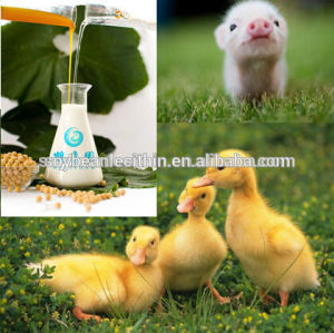 Soy lecithin as cattle feed additives