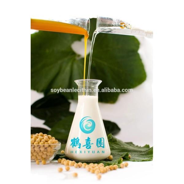 Mejor grado de alimentación líquido emulsionante lecitina de precio