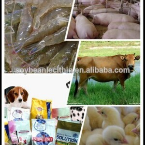 Fat supplement in animal feed-Soy lecithin liquid(200kg/drum)