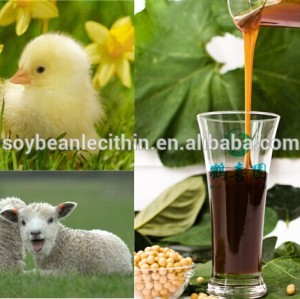 factory offer gmo free water soluble Soya lecithin for animal feed