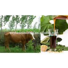 Ganado de grado de alimentación de lecitina de soja solubilidad en