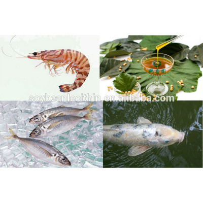 soy bean lecithin as shrimp feed additives