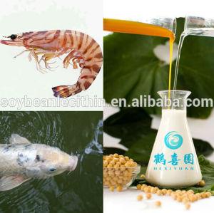 Soja lecitina de alimento para camarones aditivos