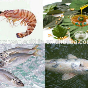 De alta qualidade soja lecitina peixe alimentação aditivo