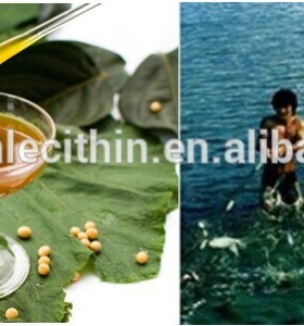soybean natural lecithin as a viscosity modifier