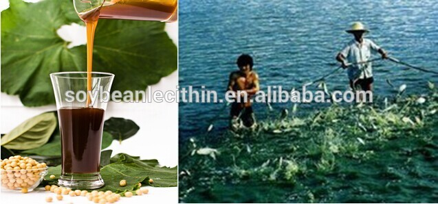pharmaceutical lecithin for fish feed additives